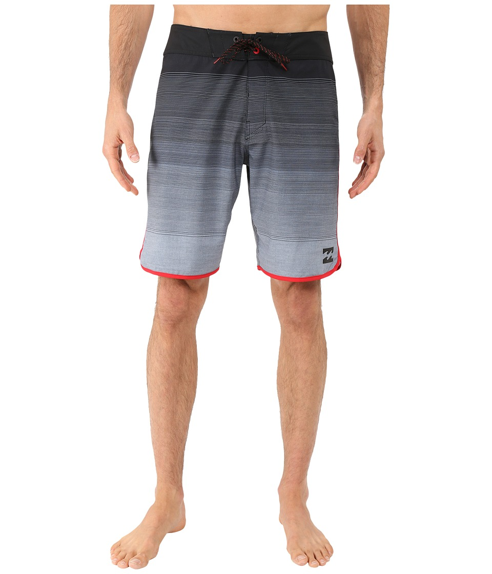 Billabong - Tribong Scallop 19 Boardshorts (Stealth) Men's Swimwear