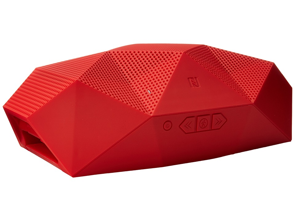 Outdoor Tech - Big Turtle Shell Wireless Boombox Powerbank (Red) Headphones