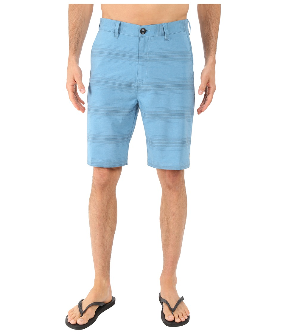 Billabong - Crossfire X Stripe Hybrid Short (Blue) Men's Shorts