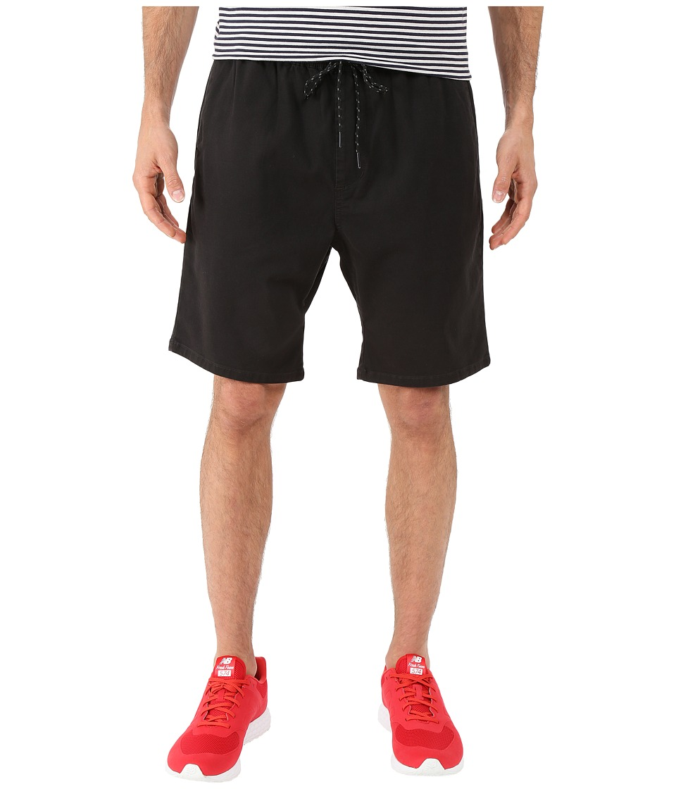 Billabong - New Order Elastic Shorts (Stealth) Men's Shorts