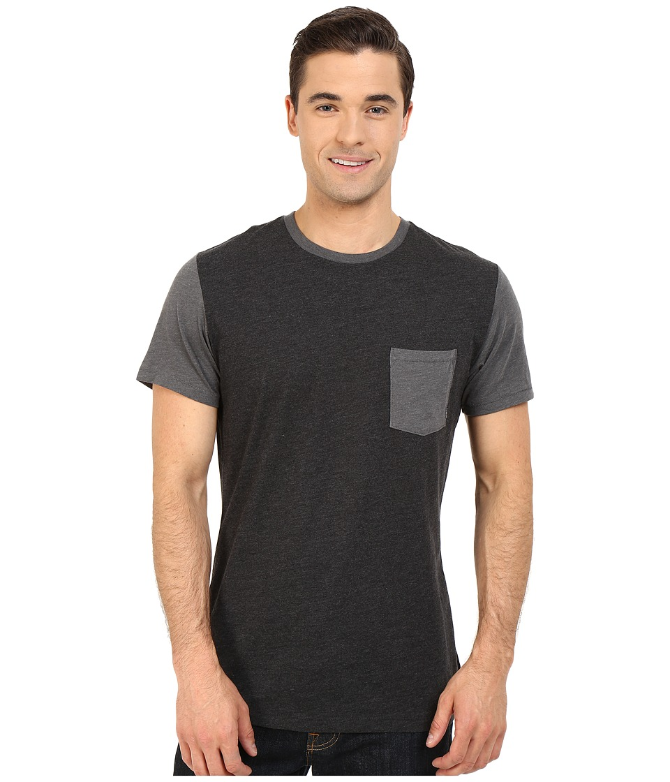 Billabong - Zenith Crew (Black Heather) Men's Clothing