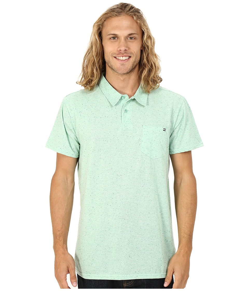 Billabong - Standard Issue Polo (Mint Heather) Men's Short Sleeve Pullover