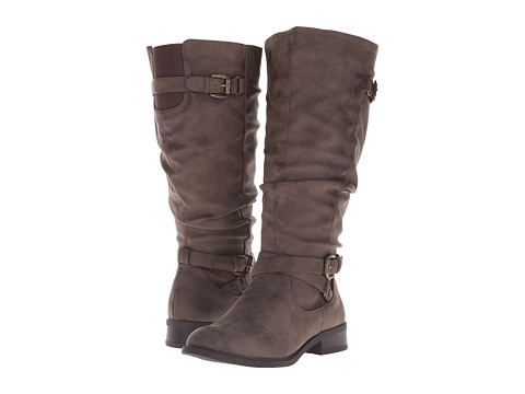 White Mountain - Latara Wide Shaft (Brown) Women