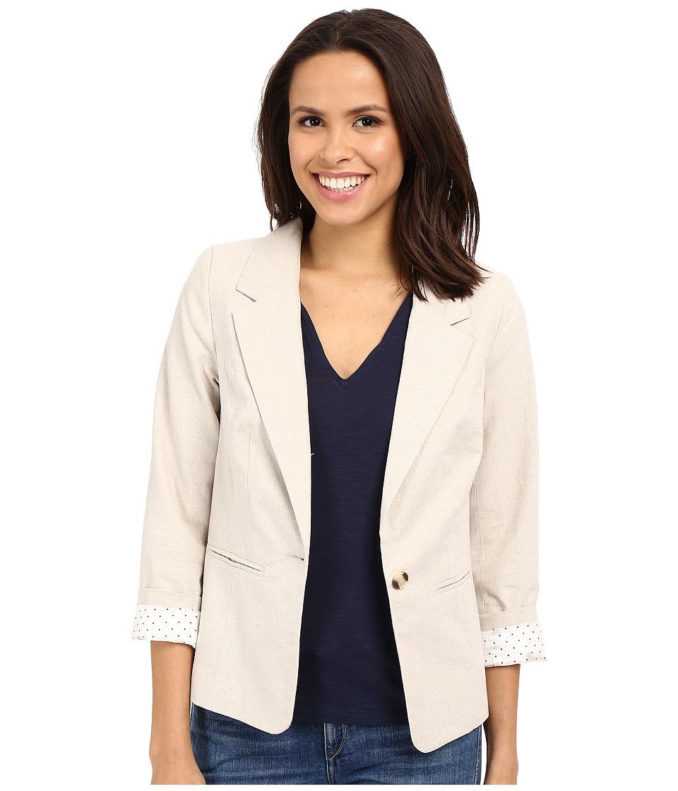 kensie - Soft Linen Blend Blazer KS4K2240 (Linen Combo) Women's Jacket