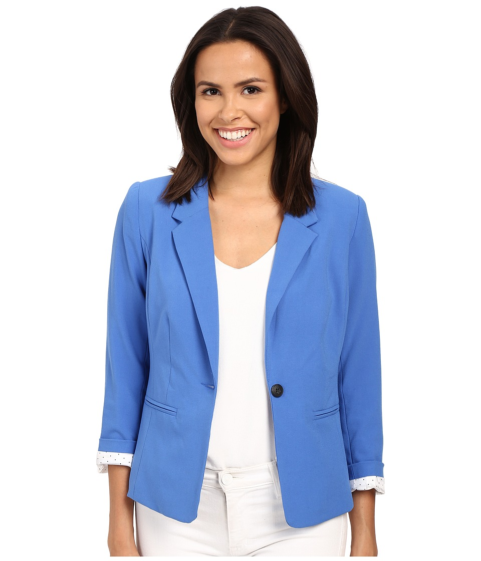 kensie - KS2K2S51 Blazer (Bright Cobalt) Women's Jacket