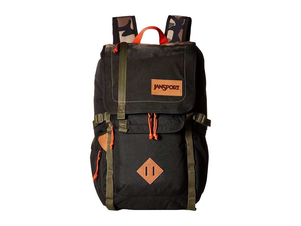 JanSport - Hatchet Backpack (Black Camo Fade) Backpack Bags