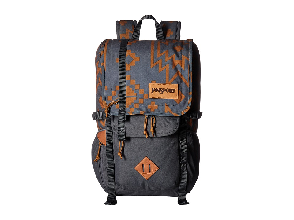 JanSport - Hatchet Backpack (Mud Hut Crossroad) Backpack Bags