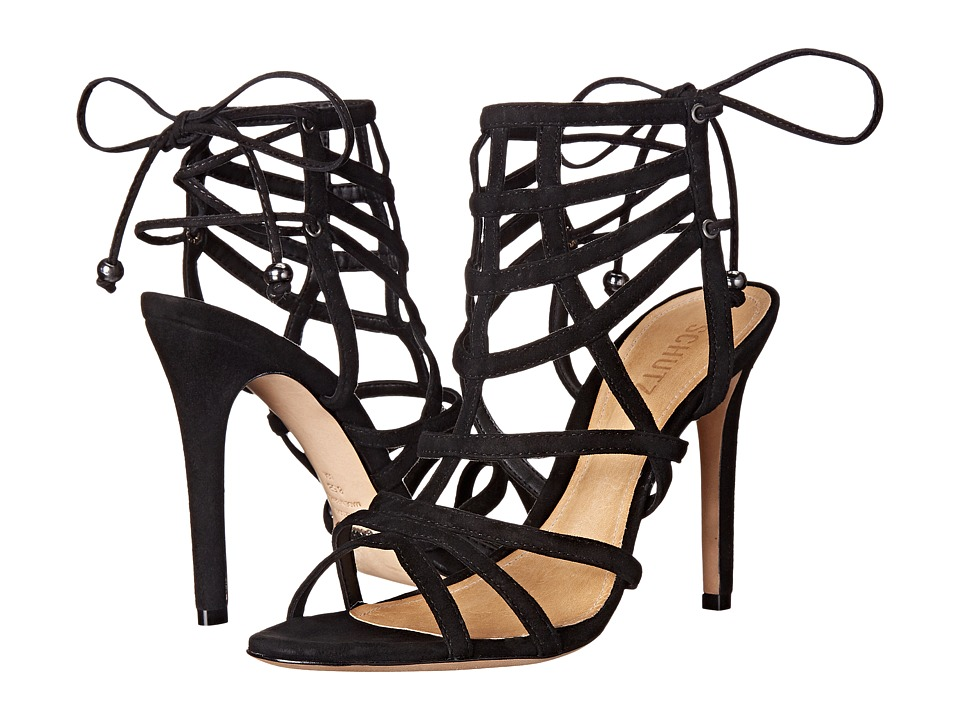 Schutz Latonya (Black) High Heels