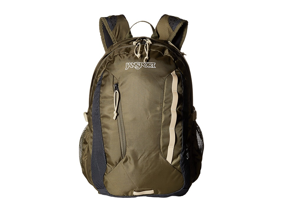 JanSport - Agave (Green Machine/Grey Tar) Backpack Bags