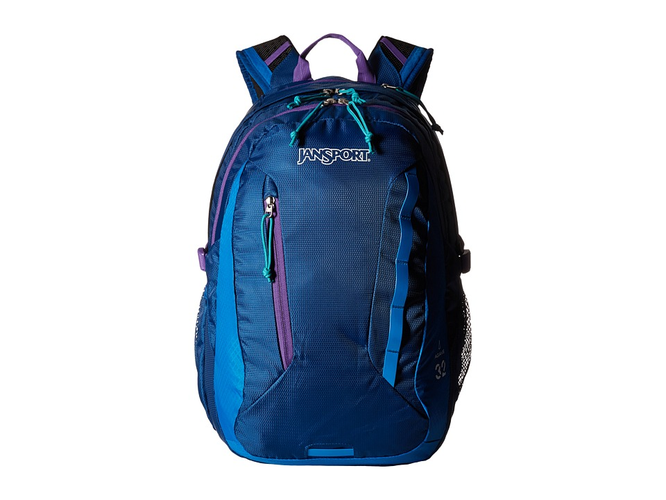 JanSport - Agave (Midnight Sky/Purple Night) Backpack Bags