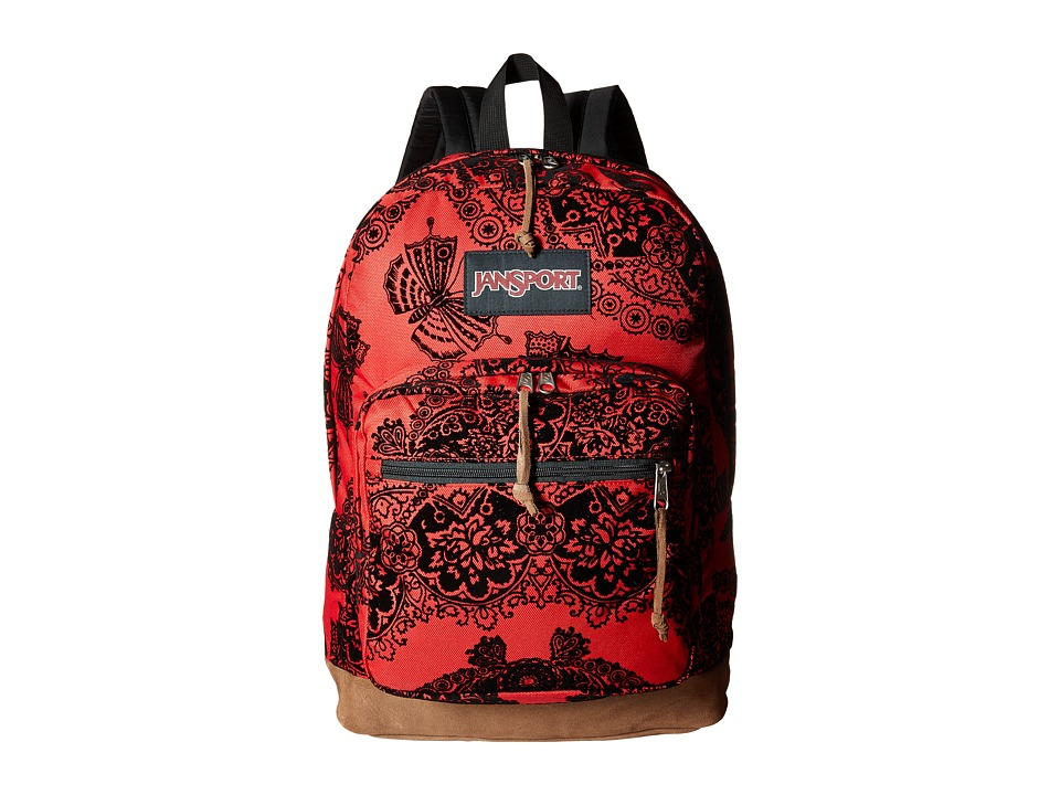 JanSport - Right Pack Expressions (Red Tape Ornate Rock) Backpack Bags