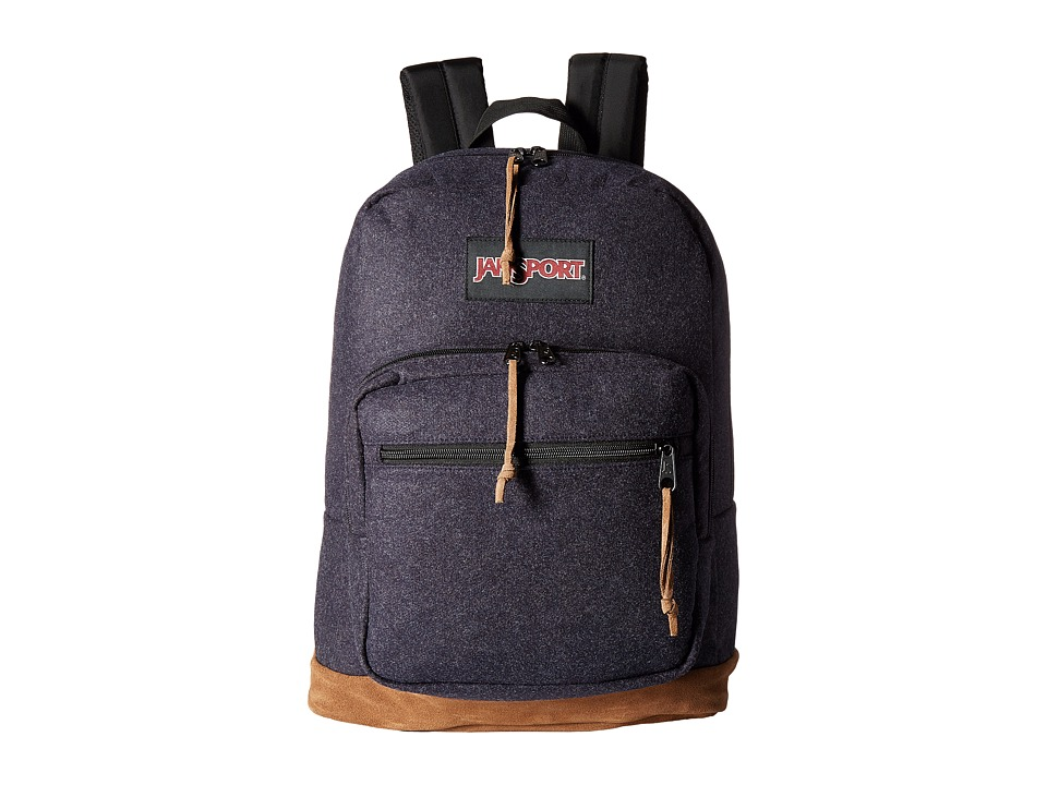 JanSport - Right Pack Digital (Navy Blue Felt) Backpack Bags