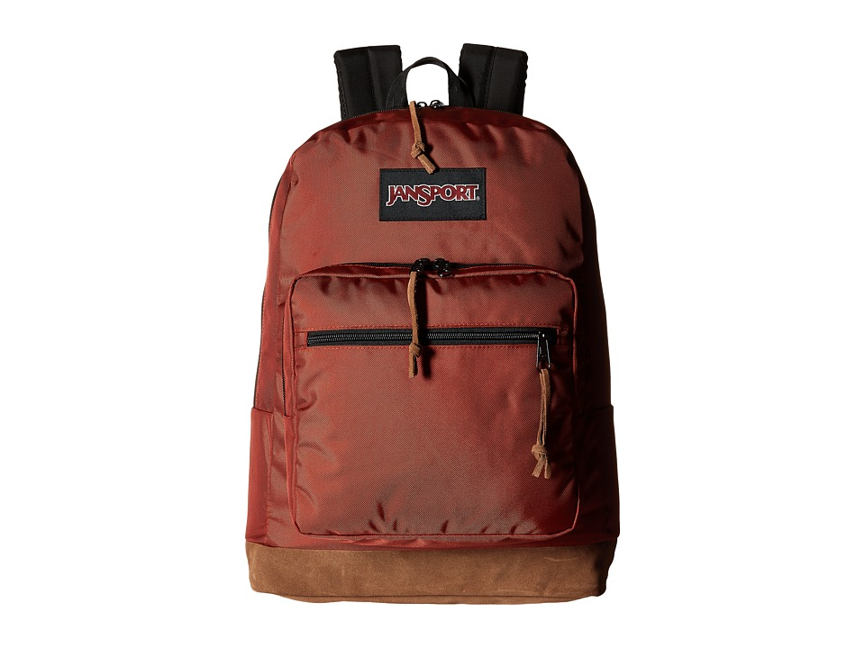 JanSport - Right Pack Digital (Burnt Henna Ballistic Nylon) Backpack Bags