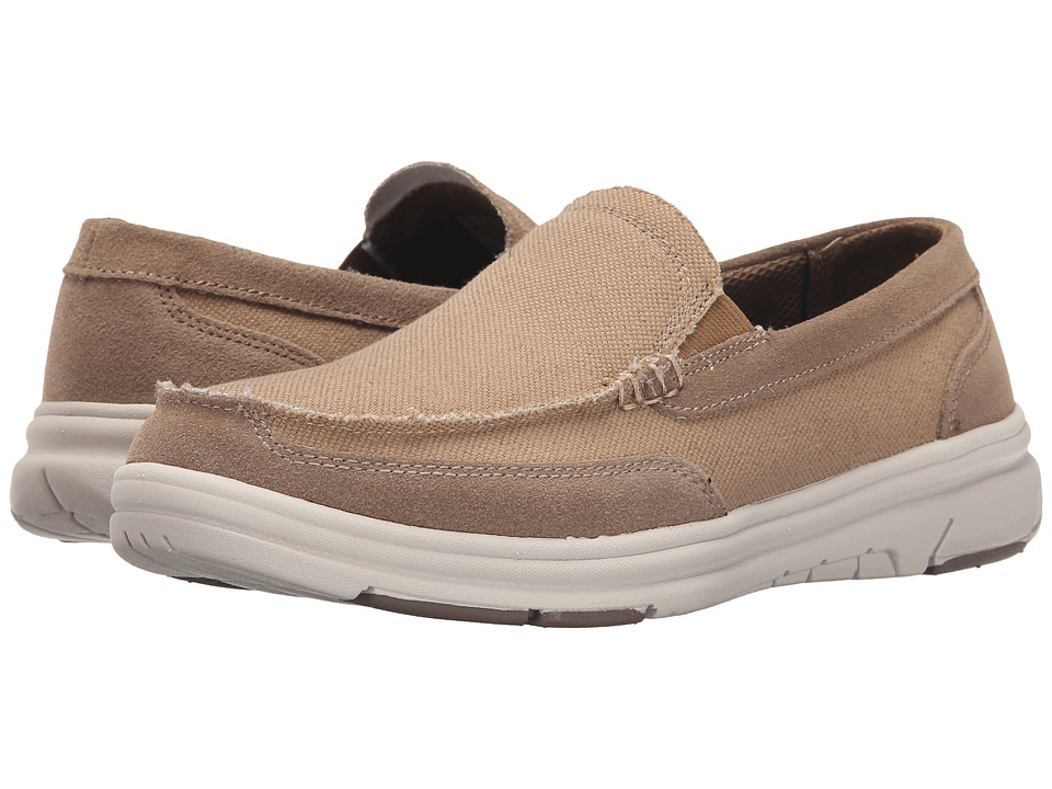 Dr. Scholl's - Grand (Tan Canvas) Men's Shoes