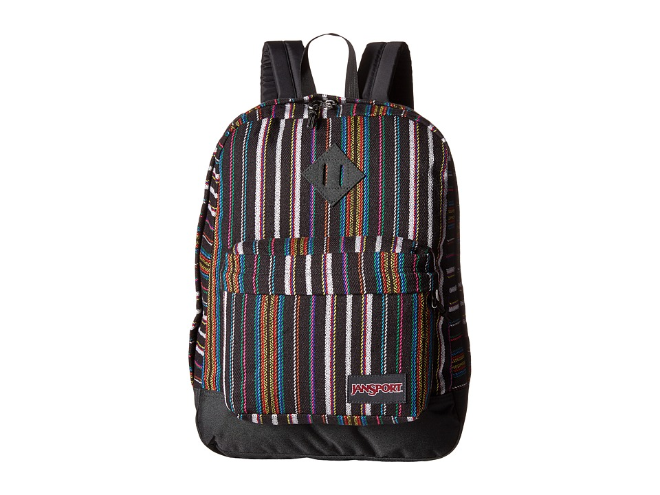 JanSport - Super FX (Multi Surf Stripe) Backpack Bags