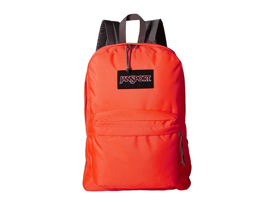 JanSport - Black Label SuperBreak (Tahitian Orange) Backpack Bags