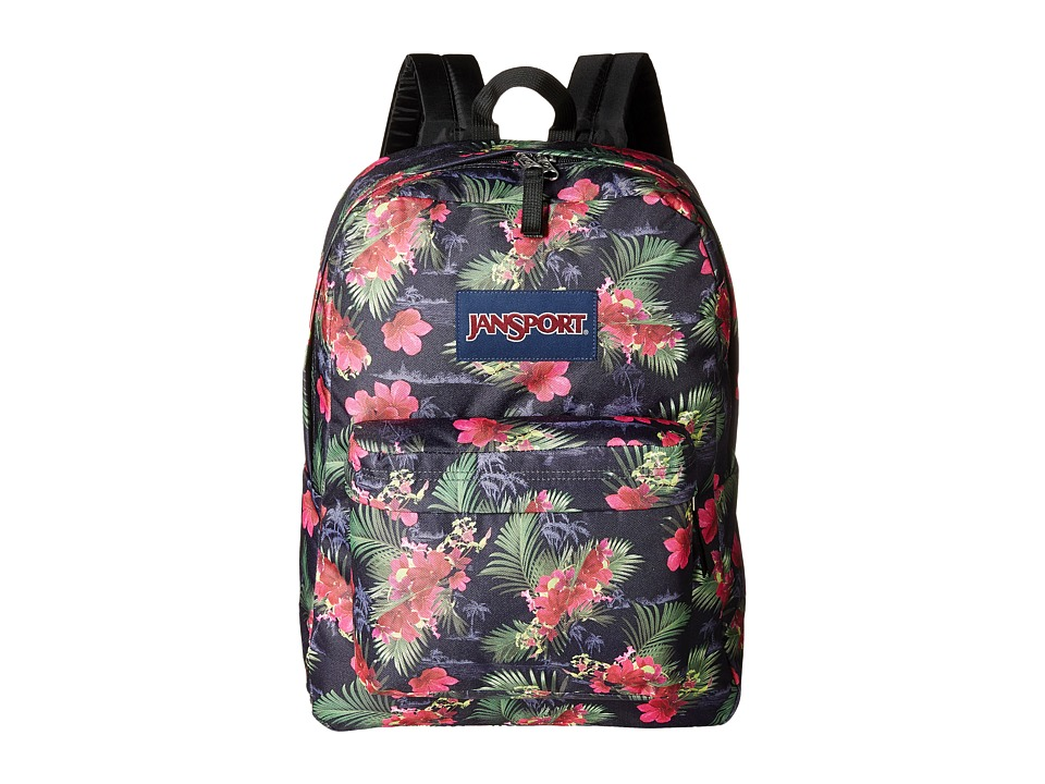 JanSport - SuperBreak (Multi Hot Tropic) Backpack Bags