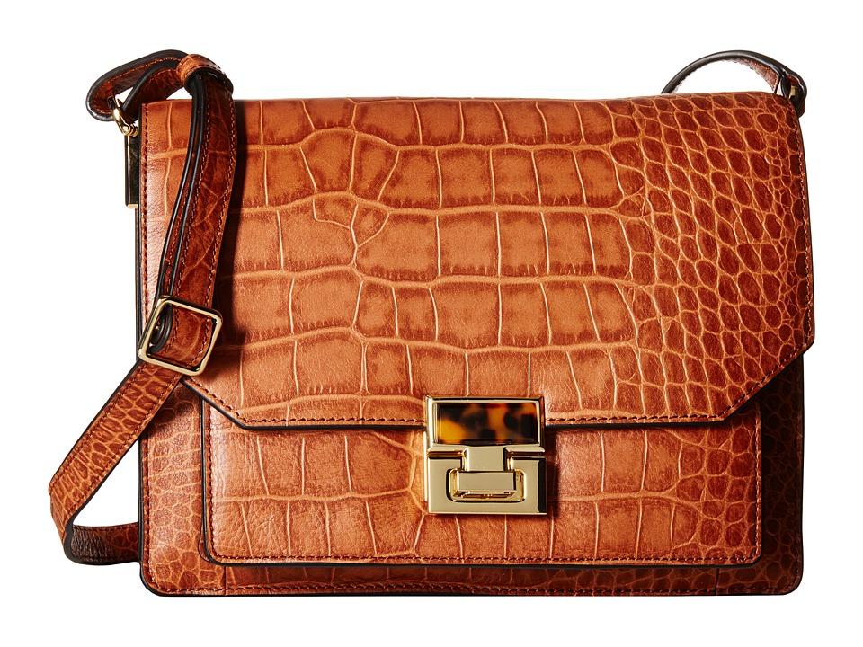 Ivanka Trump - Hopewell Shoulder Flap (Luggage) Cross Body Handbags