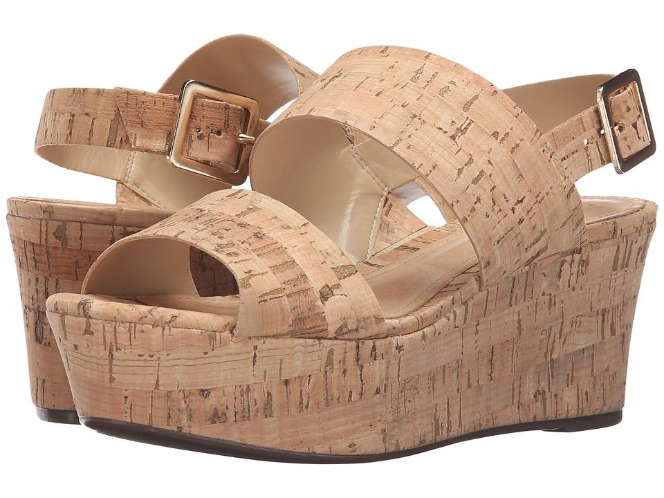Schutz - Fankia (Natural) Women's Wedge Shoes