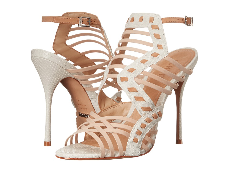 Schutz Tamiris (Pearl/Light Wood/Tanino II) High Heels