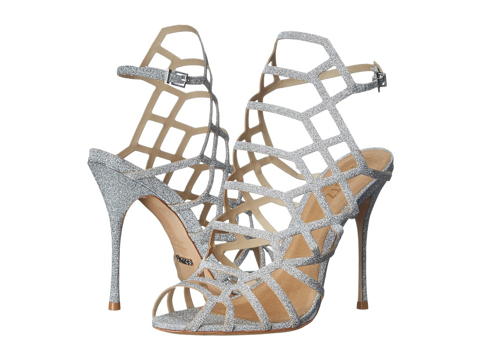 Schutz Juliana (Prata) High Heels