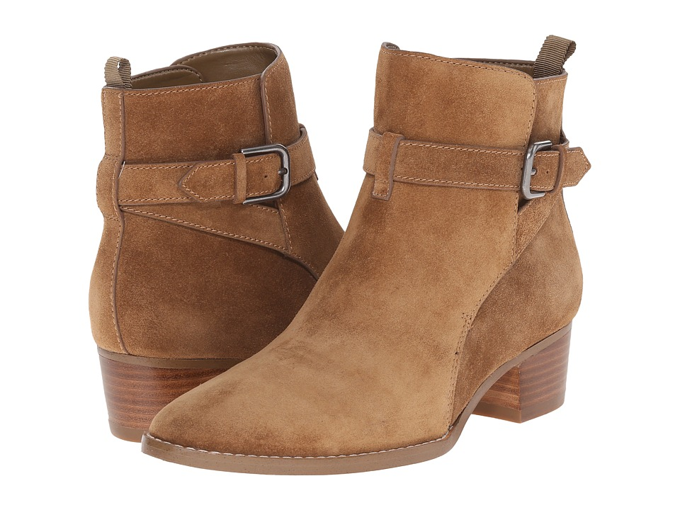 Marc Fisher LTD - Razzle (Dark Natural Suede) Women's Dress Pull-on Boots