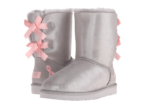 UGG - Shiny Bailey Bow CA (Seal) Women's Boots
