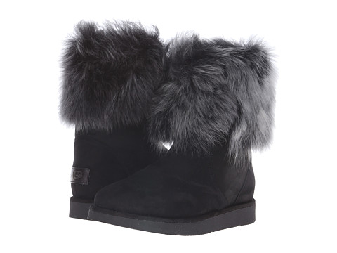 UGG Collection - Lora (Black) Women's Pull-on Boots