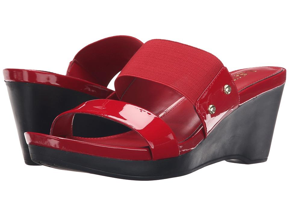 LAUREN Ralph Lauren - Rhianna (Bright Red Soft Patent) Women's Shoes