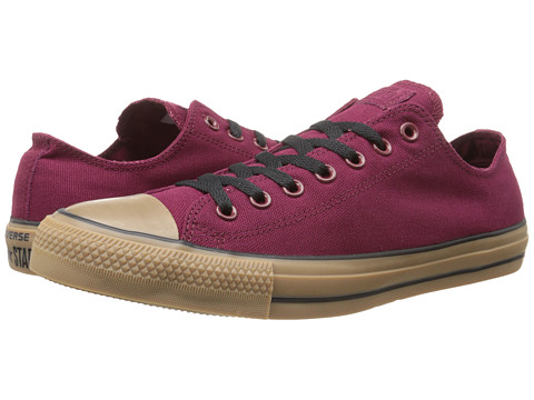 Converse - Chuck Taylor Ox (Oxheart/Gum) Lace Up Cap Toe Shoes