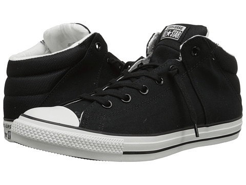 Converse - Chuck Taylor All Star Axel Mid (Black/White) Athletic Shoes