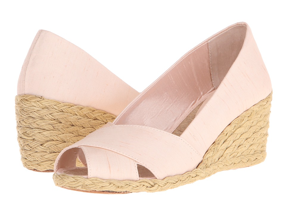 LAUREN Ralph Lauren - Cecilia (Petal Shantung) Women's Wedge Shoes