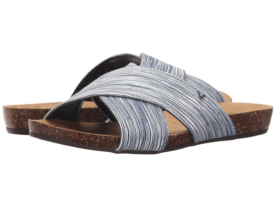 Dr. Scholl's - Rae (Navy Harmony Stripe) Women's Shoes