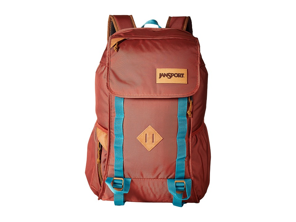 JanSport - Iron Sight (Burnt Henna Ballistic Nylon) Backpack Bags