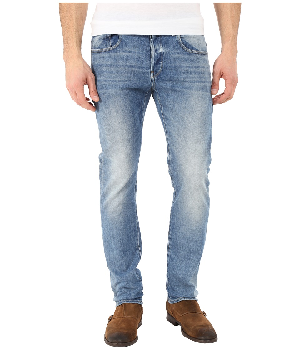G-Star - 3301 Slim in Humber Stretch Denim Light Aged (Humber Stretch Denim Light Aged) Men's Jeans