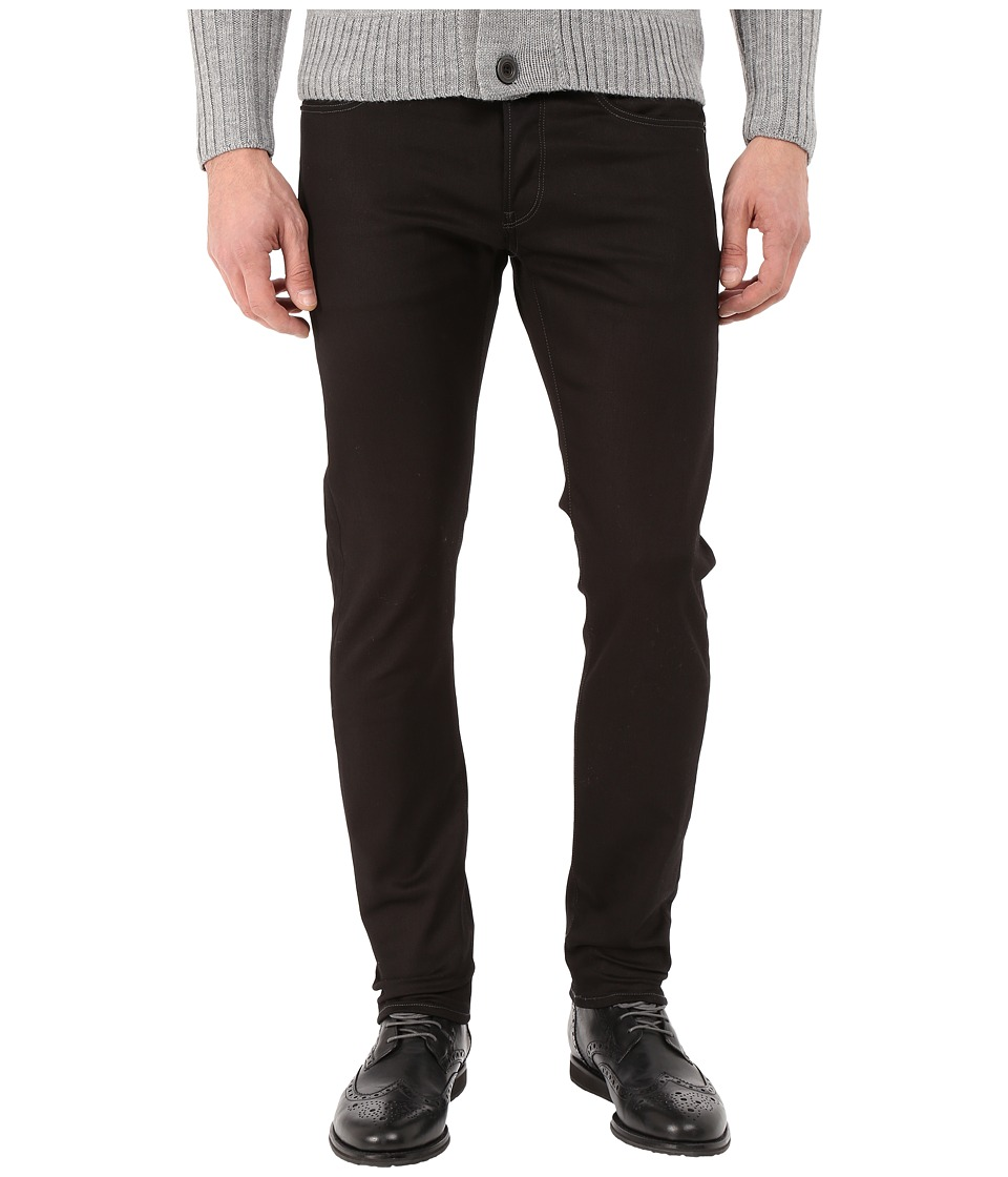 G-Star - 3301 Slim in Black Edington Stretch Denim Raw (Black Edington Stretch Denim Raw) Men's Jeans