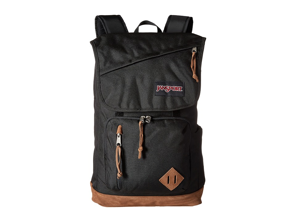 JanSport - Hensley (Black) Backpack Bags