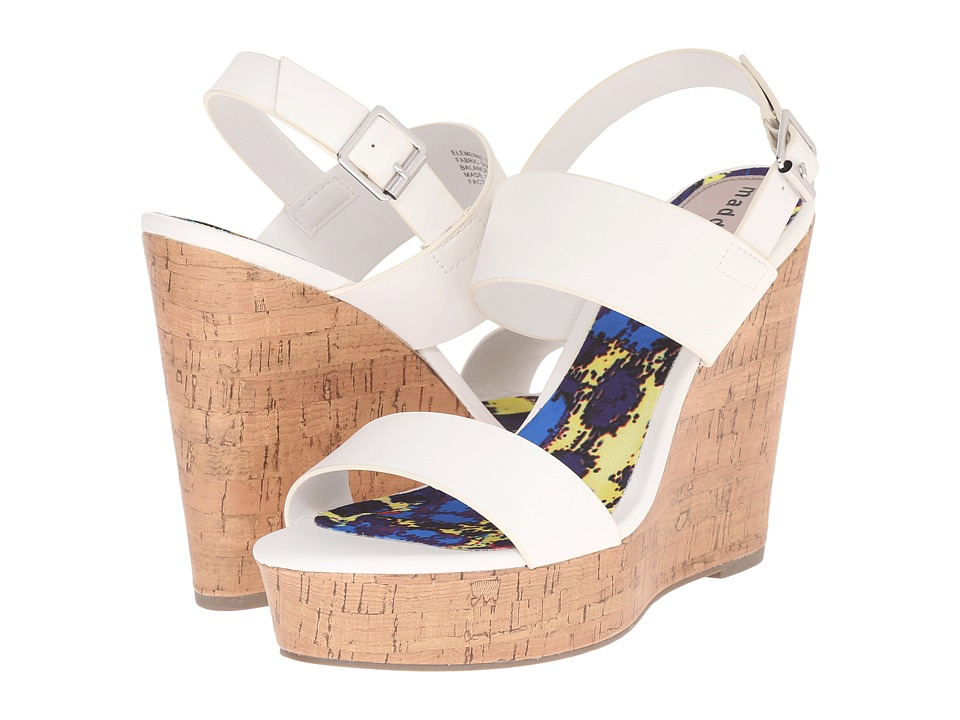 Madden Girl - Elemennt (White Paris) Women's Wedge Shoes
