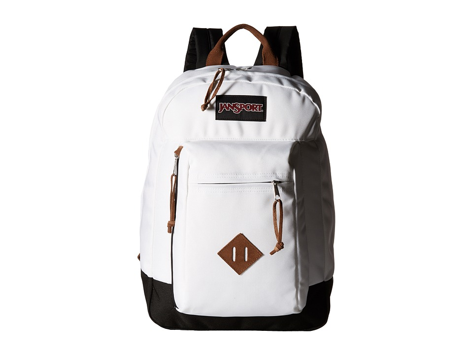 JanSport - Reilly (White) Backpack Bags