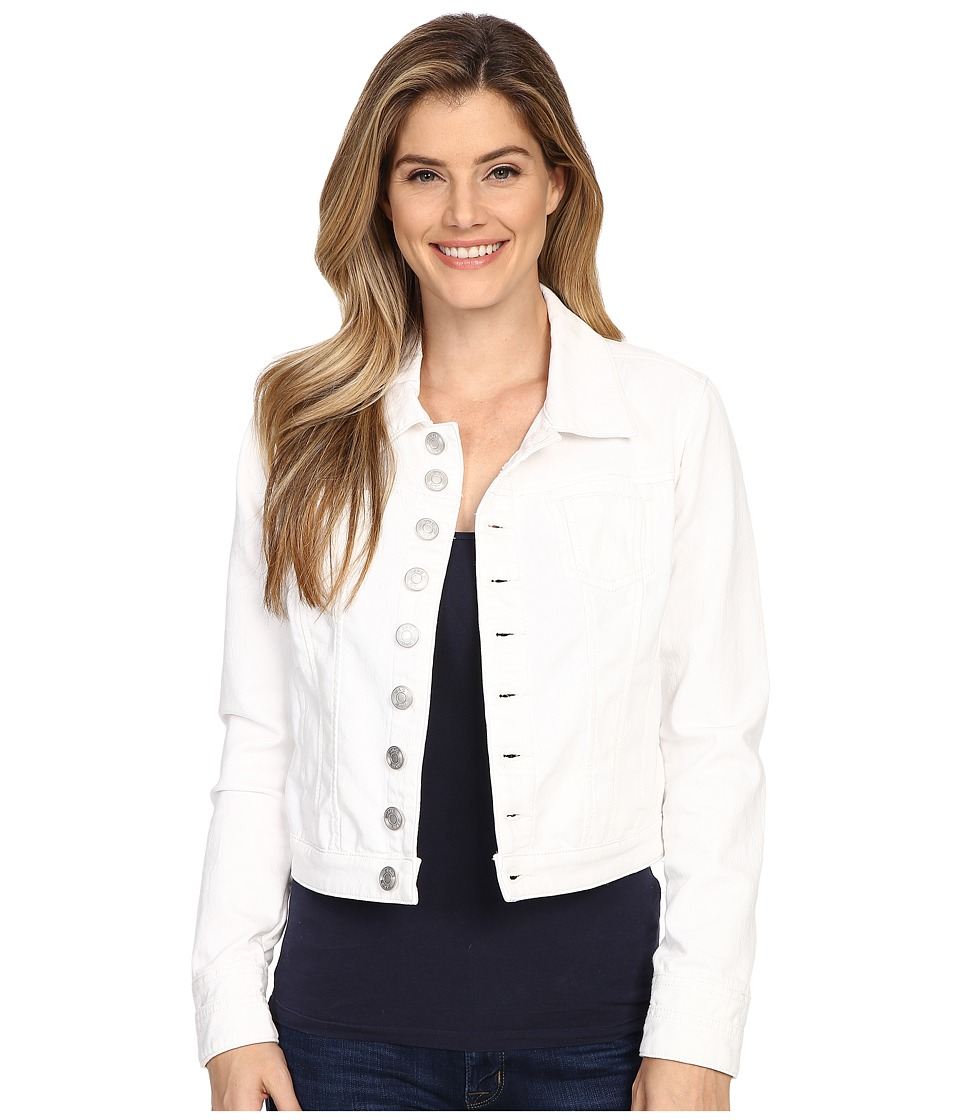 Jag Jeans - Savannah Jacket Knit Denim (White) Women's Coat