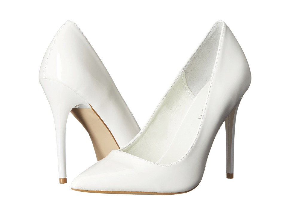 Madden Girl - Ohnice (White Patent) High Heels
