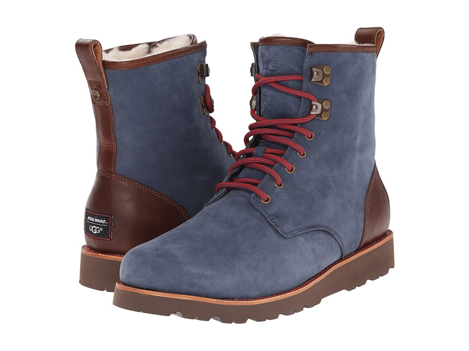 UGG - Han Solo Hannen II TL (Navy) Men's Lace-up Boots