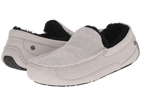 UGG - Millennium Falcon Ascot (Grey) Men's Slippers