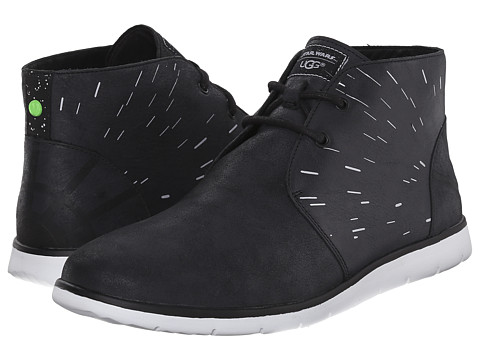 UGG - Millennium Hyperspace (Black) Men's Lace up casual Shoes