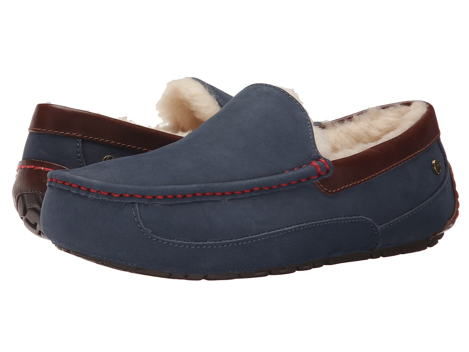 UGG - Han Solo Ascot (Navy) Men's Shoes