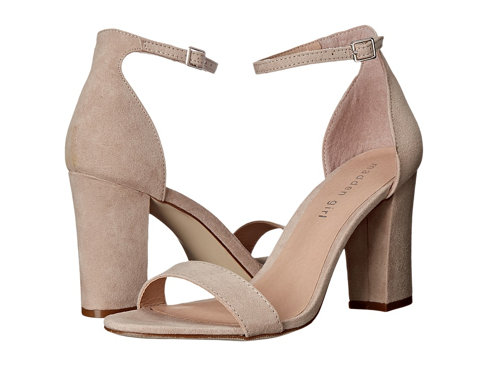 Madden Girl Beella (Blush Fabric) High Heels