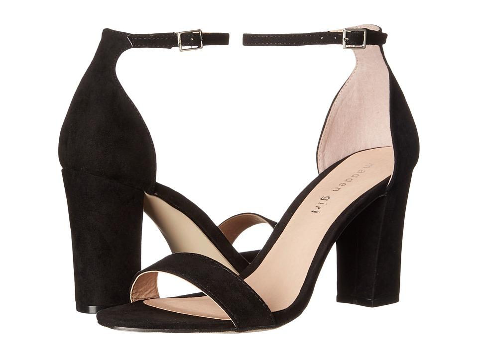 Madden Girl - Beella (Black Fabric) High Heels