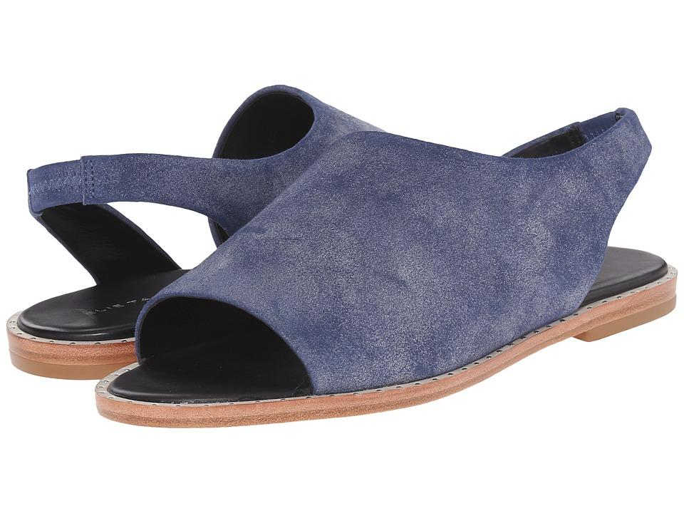Tahari - Elie Tahari - Nora (Blue Wash/Black Goat Gala/Premium Nappa) Women's Sandals