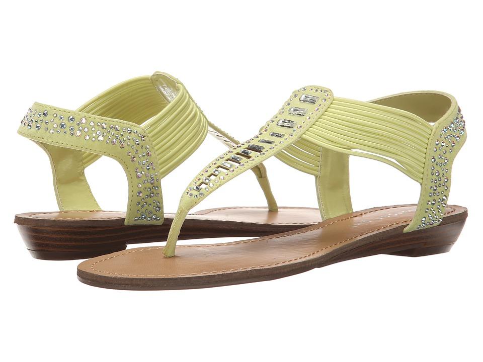 Madden Girl - Triixie (Yellow Fabric) Women's Sandals
