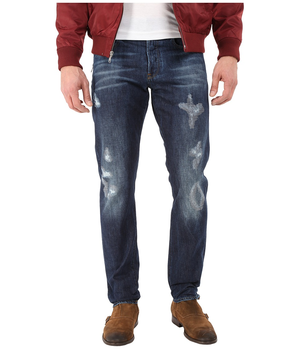 G-Star - Stean Tapered in Neya Denim Dark Aged Restored 55 (Neya Denim Dark Aged Restored 55) Men's Jeans